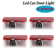 4 шт дверь автомобиля СИД светильник логотип проектор Добро пожаловать лампы призрак лампа для Mercedes Benz W176 W246 W205 W212 W213 W166 A, B, C, E, GLS класса
