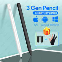 For Apple Pencil iPad pen stylus For 2018 ipad Pro 11 12.9 9.7 10.2 Air 1 2 3 Mini 1 2 3 4 5 Smart Touch Pen For Apple Pencil 2