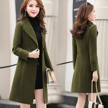 2019 New Women outerwear autumn winter clothing fashion warm