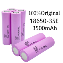 1-10PCS Actual capacity original power 18650 lithium battery 3500mAh 3.7v 25A high power INR18650 for electrical tools