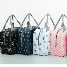 Сохранение детского питания бутылки молока тепла/холода хранения изоляционные сумки водонепроницаемый Фламинго сумка для обеда младенческой Дети мешок еды