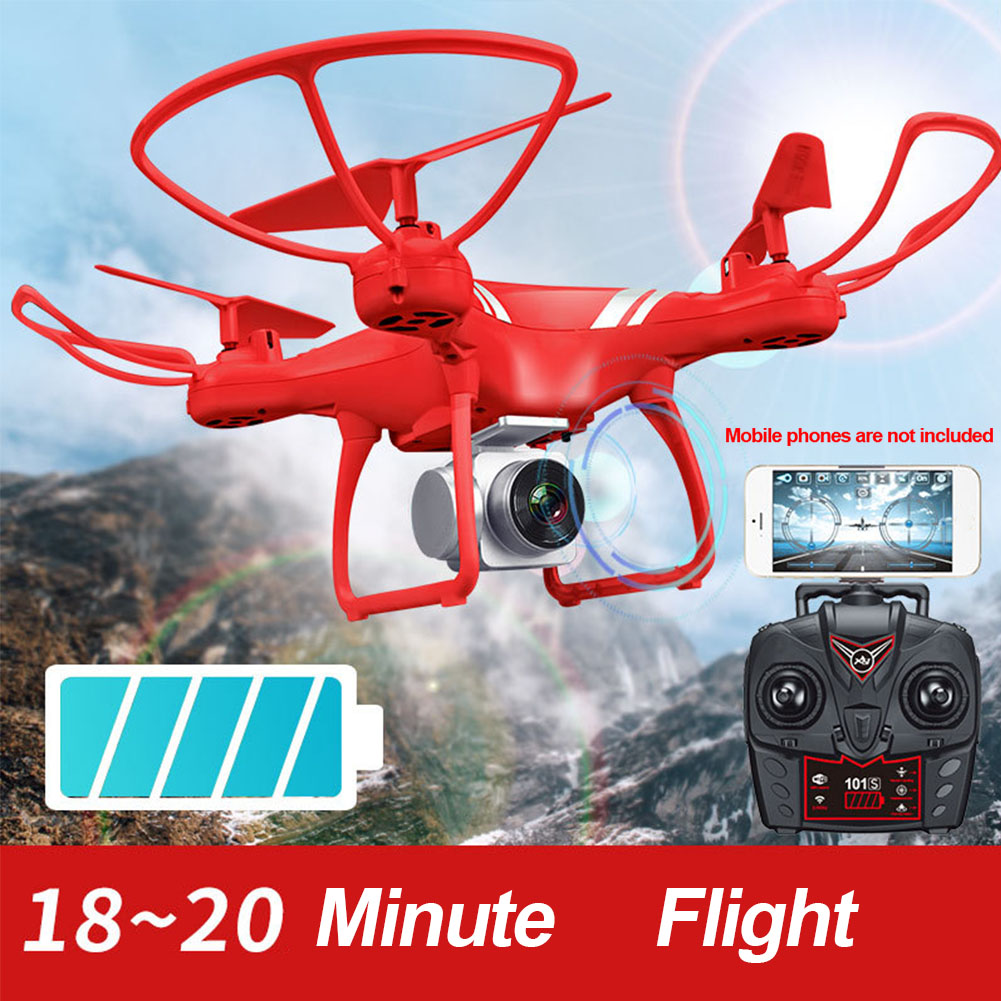 KY101S RC Quadcopter Altitude Hold FPV Camera One Key Return 360 Degree Roll Camera Drones 6-Axis Gyro Quad-rotorcraft Flight