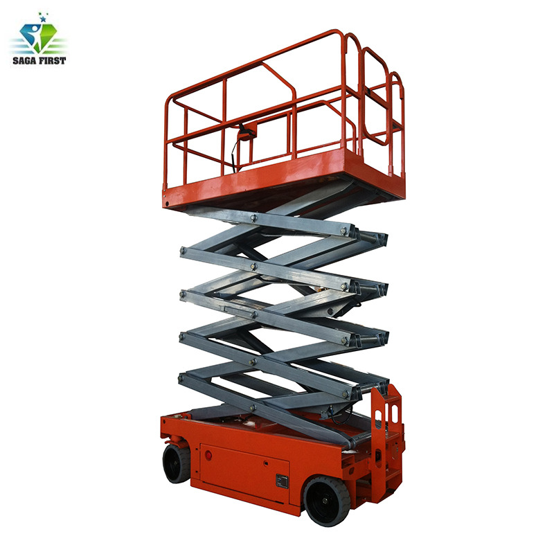 300kg DC Powered Electric Hydraulic Lift Electric Scissor Lift