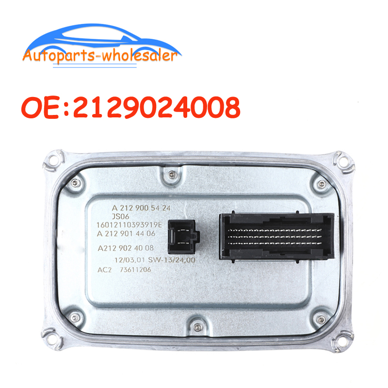 Car For Mercedes-Benz E-Klasse W212 W207 W166 C292 LED Headlight Ballast Module 2129024008 A2129024008 2129005424 A2129005424