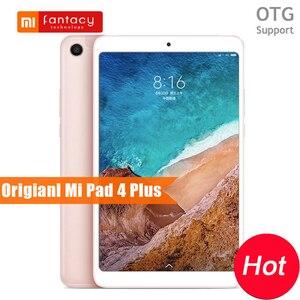 Image 1 - Original Xiao mi mi Pad 4 Plus Snapdragon 660 AIE 4G LTE 64 GB 8620 mAh 1920x1200 FHD 10.1 แท็บเล็ต mi Pad 4 Plus FaceID