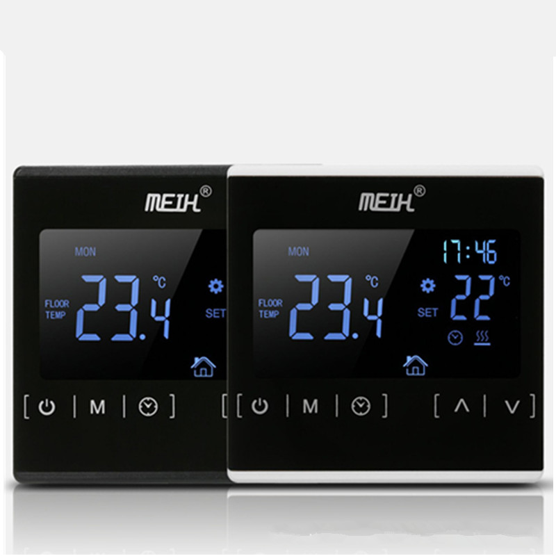 Thermoregulator LCD Touch Screen Thermostat For Electric Heating Floor System, Room Temperature Controller