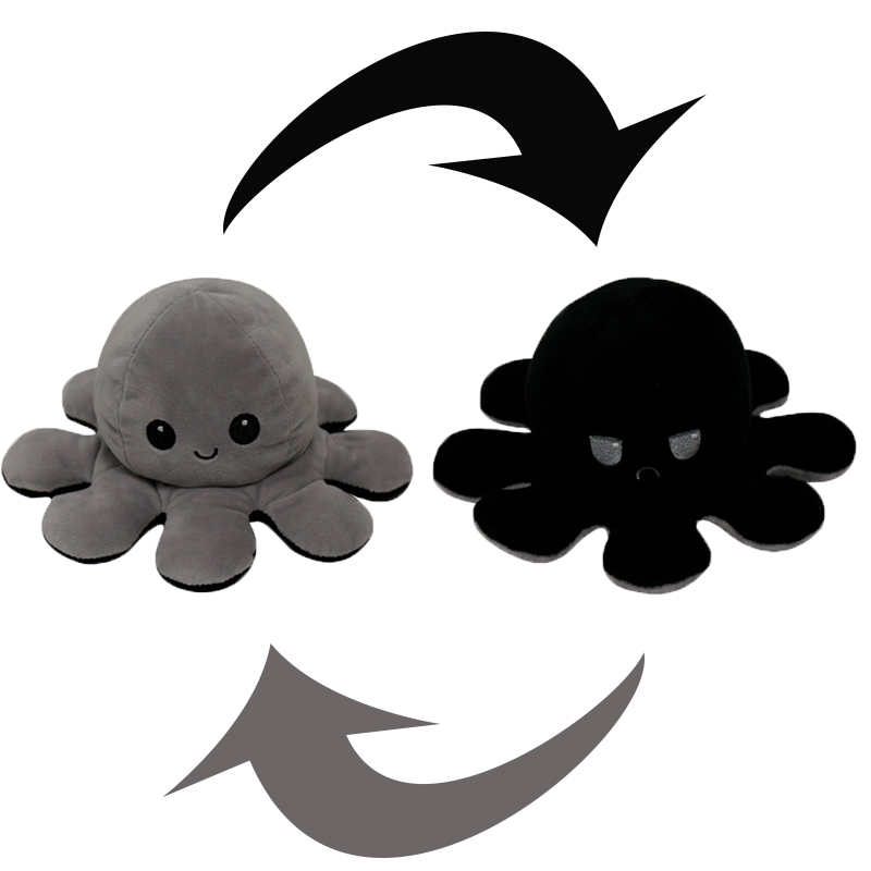 Reversible Octopus Stuffed Toy3
