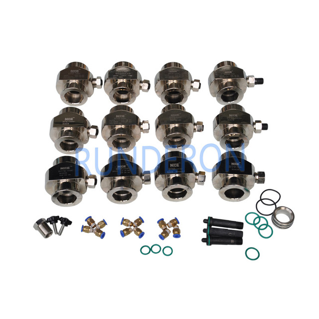 Diesel Service Workshop Common Rail Fuel Injectors Oil Collecting Clamping Fixture Repair Tool Kits Seal Joint for Bosch Denso