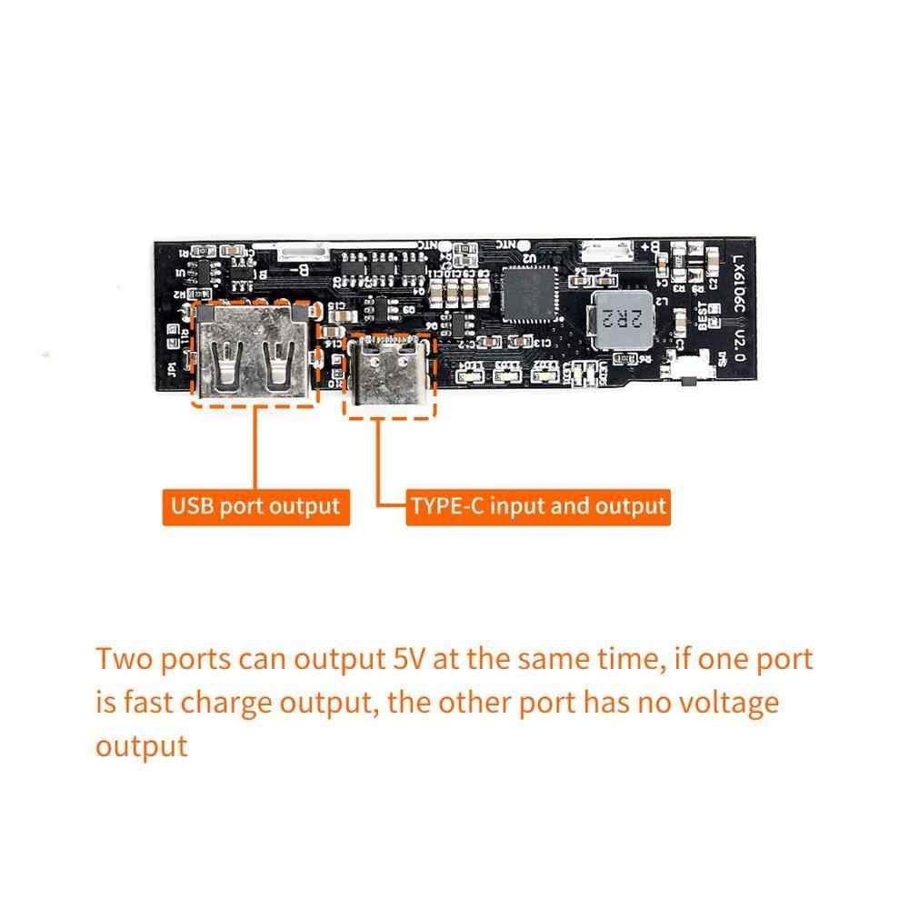 PD charge rapide QC3.0 module d'alimentation mobile FCP charge rapide bidirectionnelle 5V9V12V