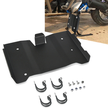 FOR BMW R 1200 GS LC Rallye 2016 - 2020 2019 2018 2017 Engine Guard Skid plate Centerstand Extension Plate Protect Panel Cover free shipping ed skid plate guard fit for yamaha xg250 tricker xt250x serow250