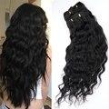 Doreen 160 г 200 г 240 г машинная работа Remy пляжные волнистые накладные человеческие волосы натуральные волнистые накладные волосы от 14 до 24 дюймов