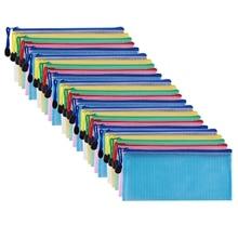 Bag Pencil Check for Budget 30-Count Storage-Box Envelope Document Invoice-Clip Zipper