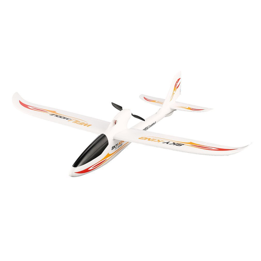 For WLtoys F959S Sky King 3-Channels 2.4G 750mm Wingspan EPO RC Backward Pusher Glider Airplane RTF Model Toys image