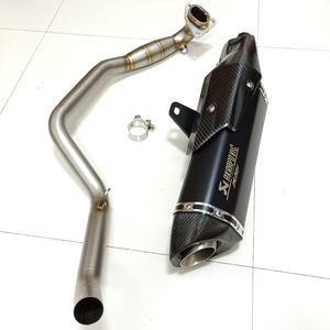 Image 2 - 2019 New Motorcycle full System For HONDA X ADV750 Front Link Pipe Exhaust Muffler Tube Header Slip On for Honda X ADV 750 XADV