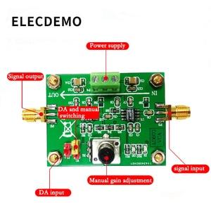 Image 2 - AD603 Variable Gain Amplifier Module Voltage Amplifier Voltage Control Adjustable VCA Amplifier board 80dB