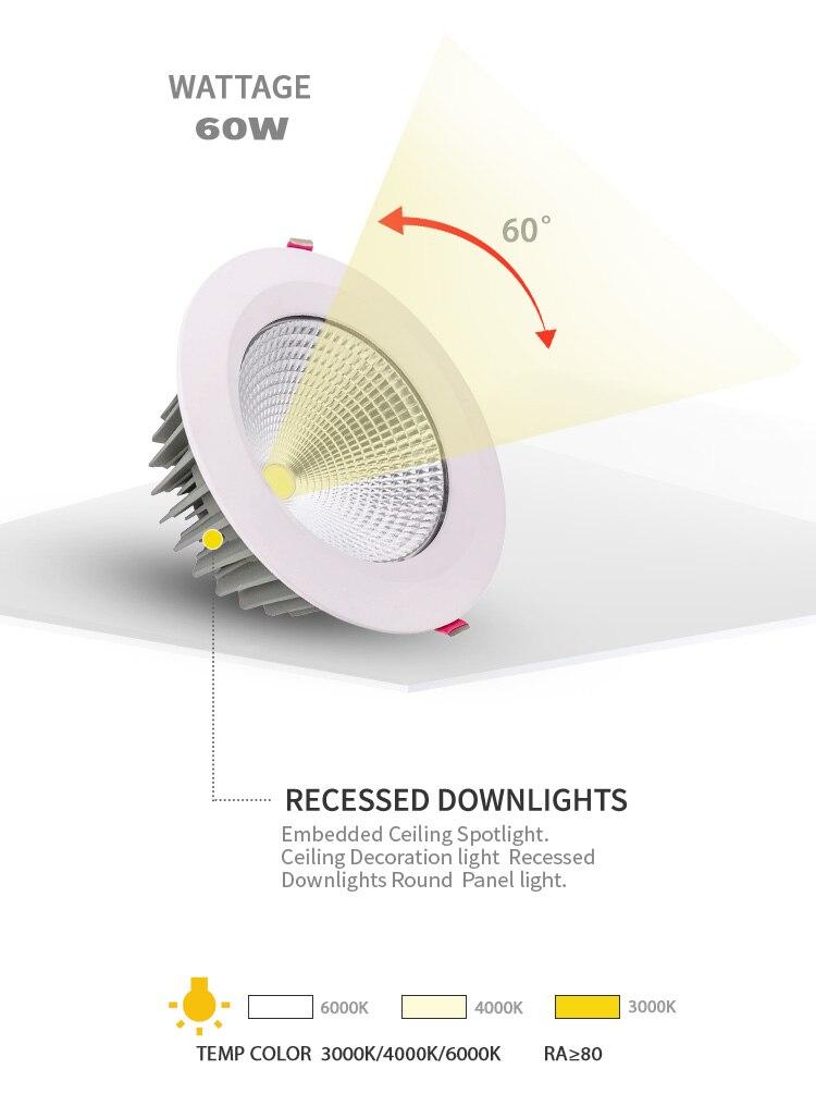 iluminação teto lâmpada de iluminação doméstica três-cor