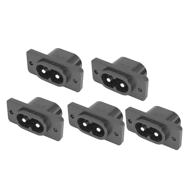 5Pcs 2.5A 250V Terminal Power Plug Socket Connector Electrical Equipments Supplies