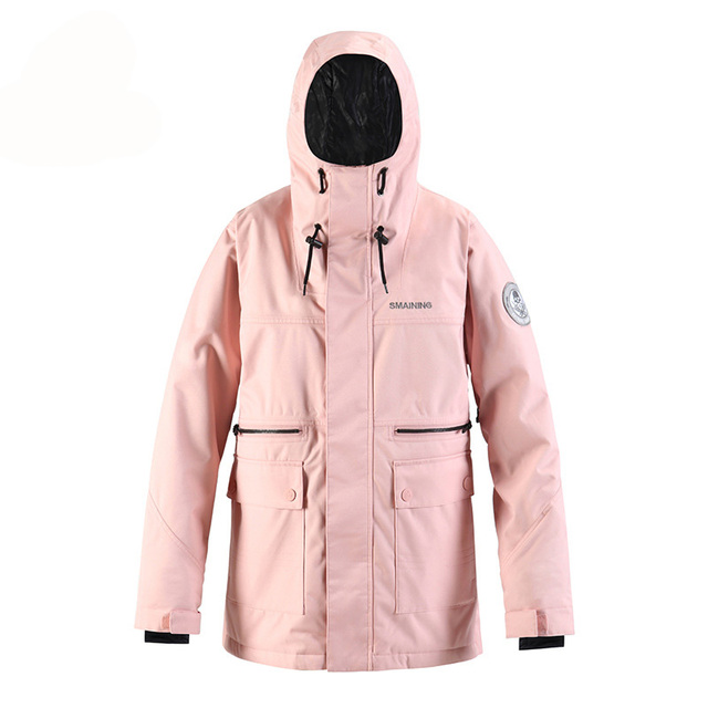 -30 Brand High Women's Snow Suit Wear Outdoor Sports Ski Costumes 15K Waterproof Snowboard Clothing Jacket Winter Coats Female 8