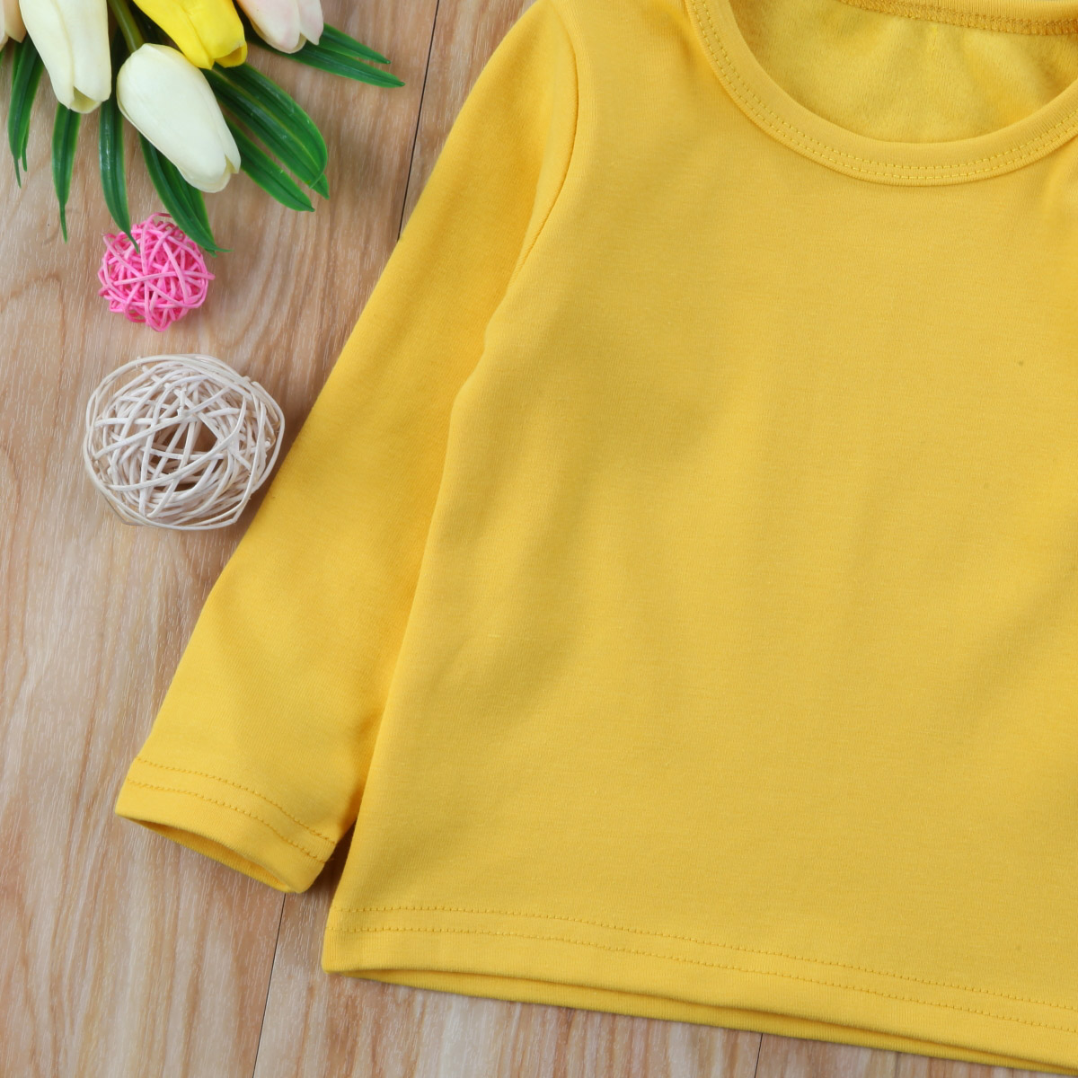 Toddler Infant Kids Baby Boys Girls Cotton Warm Clothes Tops Outwears 4