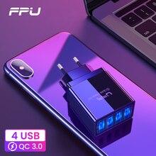 FPU Быстрая зарядка 3,0 48 Вт QC 3,0 QC3.0 быстрое зарядное устройство USB Портативное настенное зарядное устройство для мобильного телефона для iPhone Xiaomi A3 samsung S10 Plus
