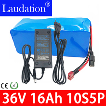 36v lithium battery pack 16AhEBike Battery 18650 10S5P 500W High Power and Capacity Motorcycle Scooter with BMS