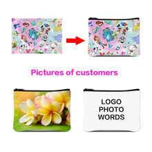 Dispalang Coin Purses for Women Customized Your Own Image on Satchel Cooler Case Lunch Box Fashion Travel Accessories Hand bag(China)
