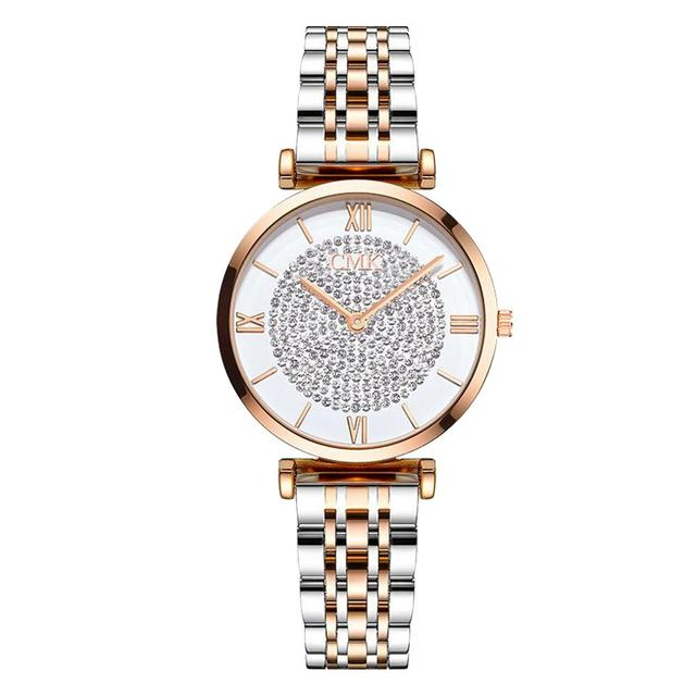Women Watches Simple Romantic Rose Gold Ladies Watch 6