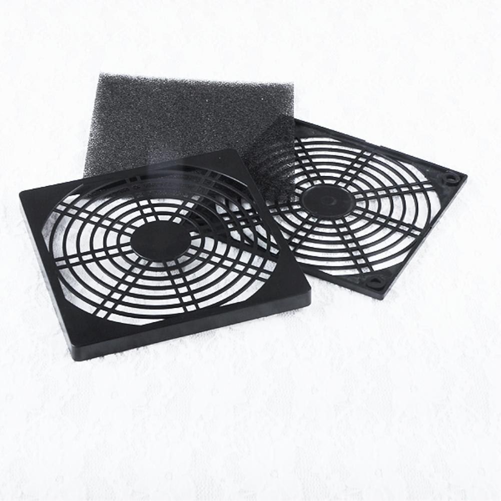 1pc Pc Dc Fan 8cm Silver Tone Cpu Grill Protector Metal Finger Guard Safety Protective Cover 4pcs Cooling Fans Fans Cooling Computer Dust Filter Guard Cover Screw Cooler Hea Processor