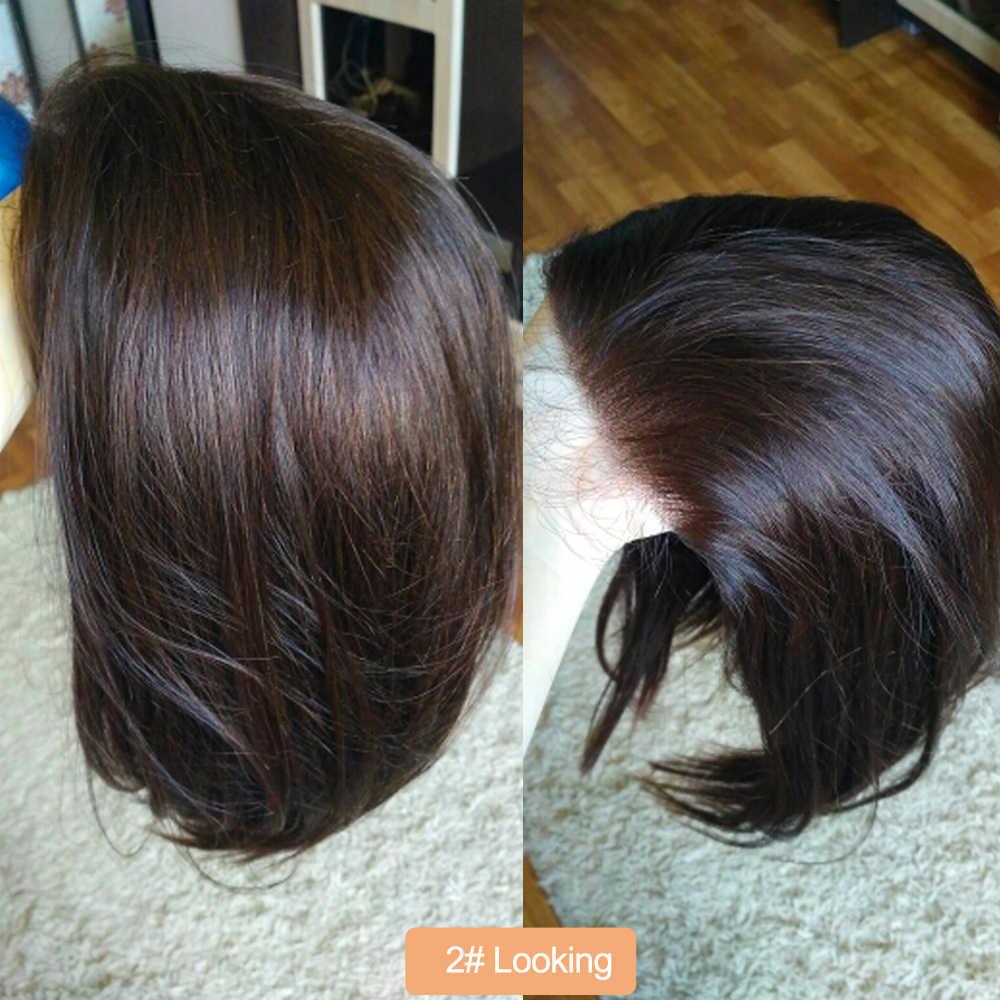 Pelucas de cabello humano zafiro, pelucas cortas de cabello humano, pelucas de cabello humano brasileño 100% de cabello humano liso, pelucas de cabello humano Bob