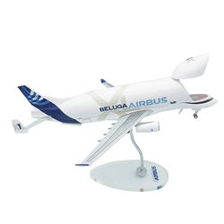 Airbus BelugaXL (A330-743L) Large Transport Aircraft Model 1:200 Scale Plastic Plane Display Collection