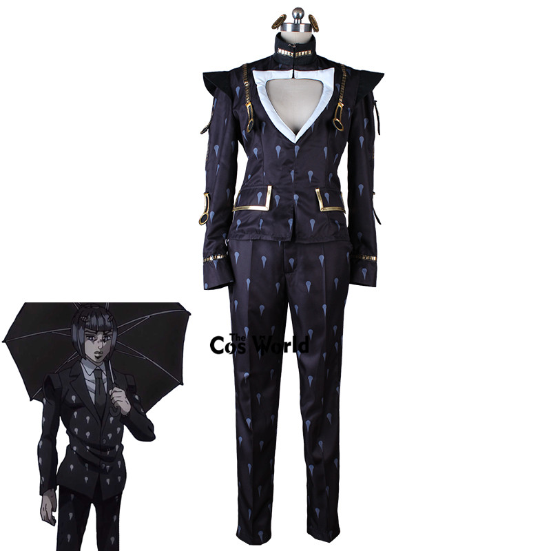 JoJo's Bizarre Adventure Golden Wind Bruno Bucciarati Funeral Cosplay Costume