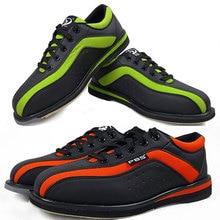 Bowling-Shoes Professional Men for Women Non-Slip Sneakers Unisex Couple Models 34-46