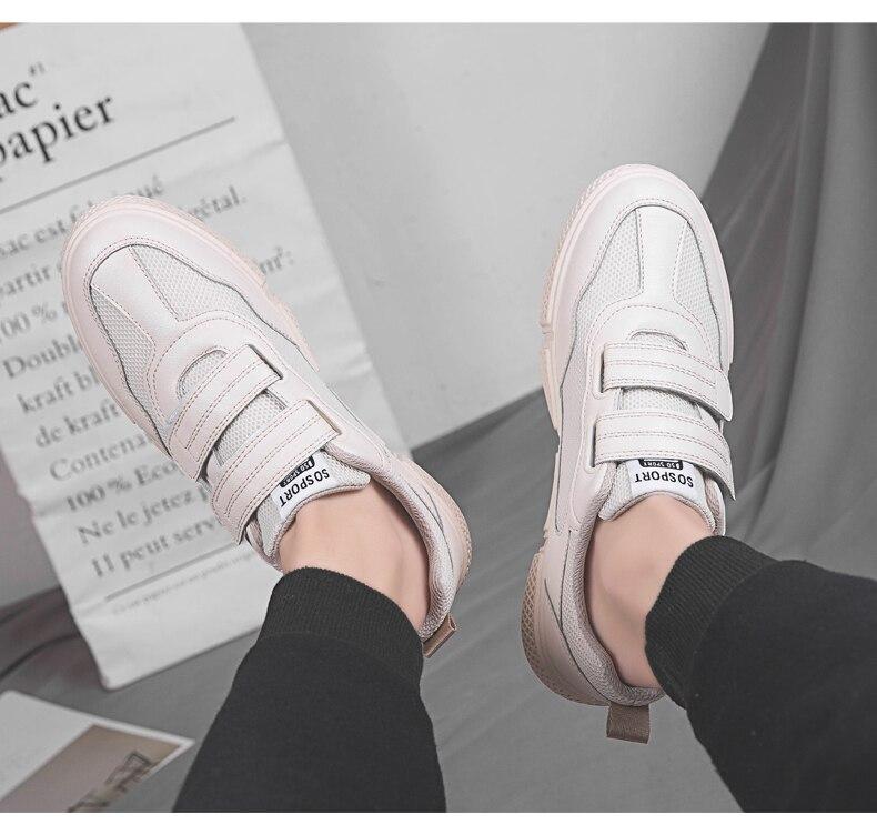quente primavera outono sapatos casuais masculinos respirável moda casual sapatos brancos
