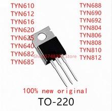 10PCS TYN610 TYN612 TYN616 TYN620 TYN625 TYN640 TYN682 TYN685 TYN688 TYN690 TYN692 TYN804 TYN806 TYN808 TYN810  TO-220