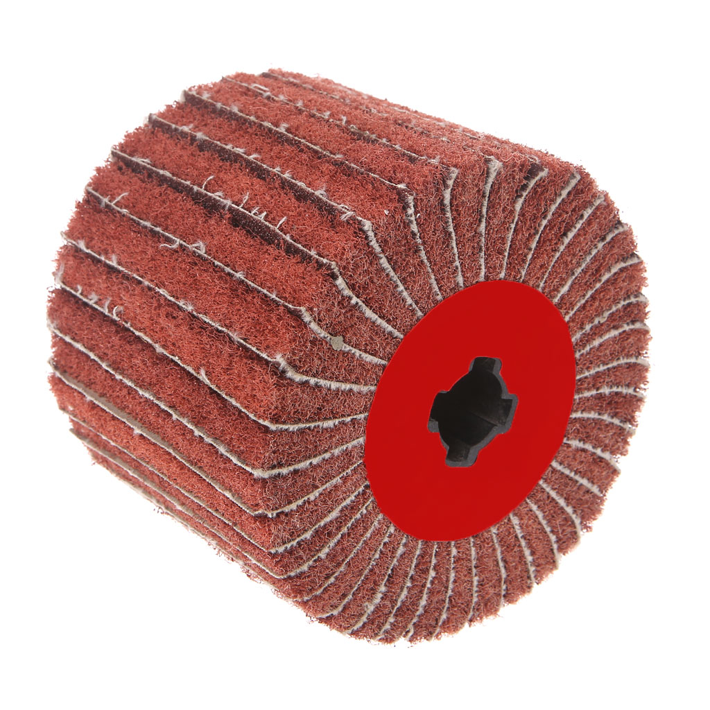 New Non-woven Abrasive Emery Nylon Round Grinding Buffing Polishing Striping Wheel