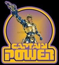 80 crianças sci-fi tv clássico capitão power t personalizado qualquer tamanho qualquer cor
