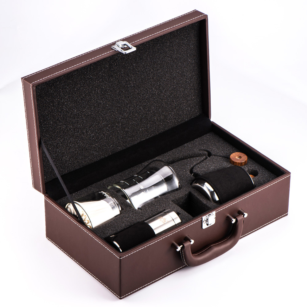 Portable Manual Coffee Grinder Spice Grinding Mill Hand Tool Grinder Set Stainless steel Coffee Grinder