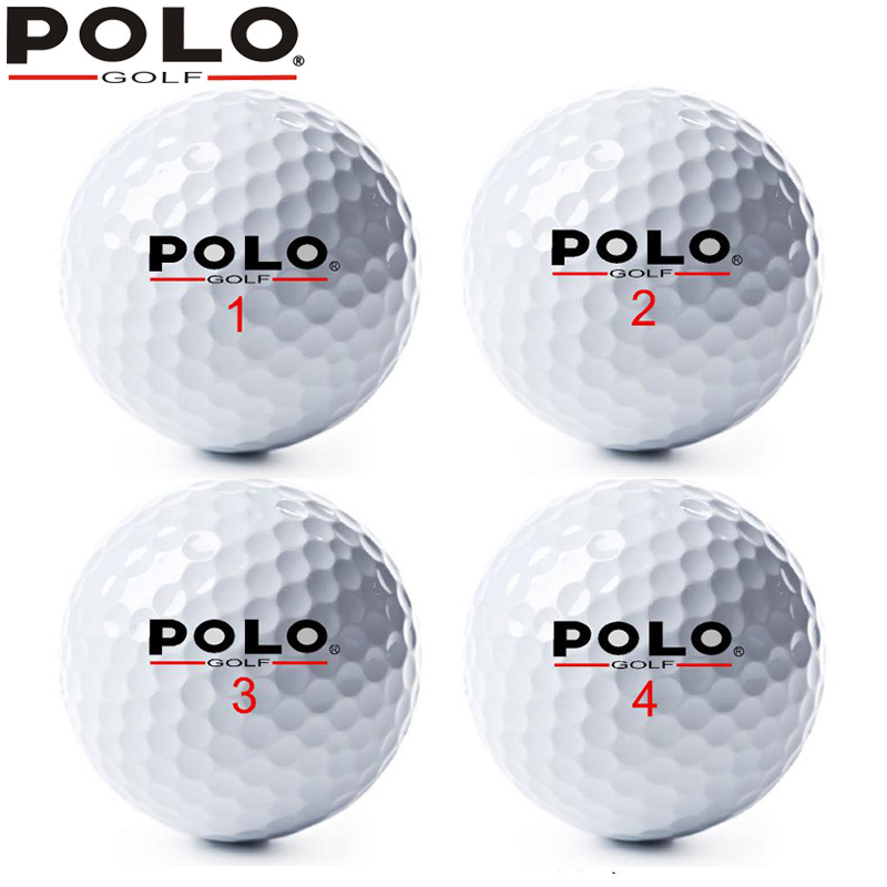 Polo Genuine Product Golf Shell Sphere Brand New Game Special-purpose Ball Practicing Ball Long Range Non-Pre-love