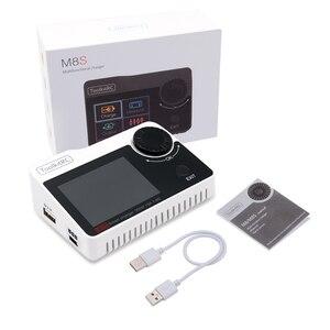 Image 1 - Toolkitrc M8S M8 Batterij Multifunctionele Oplader Ontlader Kleur Scherm 300W 15A 400W 18A Voor 1 8S lipo Lihv Leven Leeuw Nimh Pb