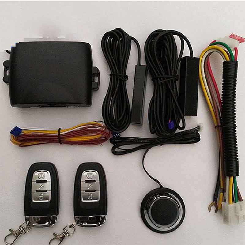 Car Alarm Car Accessories Central Locking System Universal With Alarm Car Theft Giordon Auto Start Start Stop Button Starline