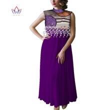 Африканские платья Анкары для женщин модный дизайн bazin riche