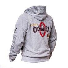 Brand Bodybuilding Hoodies Men Gym Fitness Sweatshirt Hooded Zipper Jacket Outerwear Male Running Workout Sportswear Tops Coats