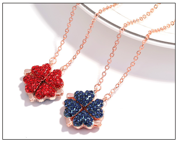 2 in 1 Necklace & Rose Box