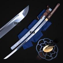 Bushido handgemachte katanas schwerter hohe härte und zähigkeit stahl Chinesischen schwert samurai japanische schwerter Sharp katana lange messer