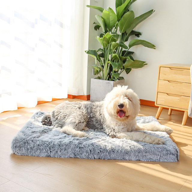 Pet Dog Bed Mattress Sleeping Mat Dog Blanket Cat Bed Sofa Cushion Memory Foam Breathable Oxford Bottom Orthopedic Pet Bed 1