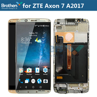 Original LCD Screen For ZTE Axon 7 A2017 LCD Display for ZTE A2017U A2017G LCD Assembly Touch Screen Digitizer Replacement Test