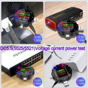 Image 4 - UD18 USB 3.0 18in1 USB tester APP dc digital voltmeter ammeter voltimetro power bank voltage detector volt meter electric doctor