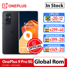 OnePlus 9 Pro 5G teléfono inteligente 8GB 128GB Snapdragon 888 de 120Hz líquido pantalla 2,0 Hasselblad 50MP Ultra-OnePlus tienda oficial; código: DESMADRE40(€299-40);DESMADRE28(€199-28);04ESOW20(€149-20);DESMADRE14