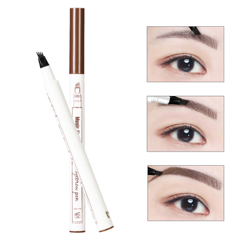 1 PCS 4 Arrow Heads Microblading Liquid Eyebrow Pencil Waterproof Sharp Tips Eye Brow Pencils Eye Liner Beauty Makeup Tools
