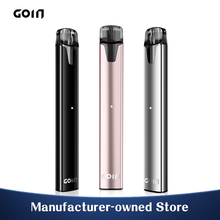 GOIN G3 Electronic Cigarette Stainless Steel Vape Pods with Honeycomb Ceramic Atomizer